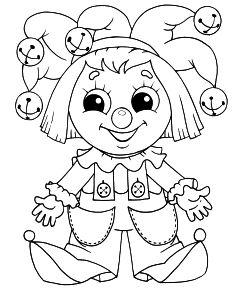 Раскраски для девочек барби куклы 12